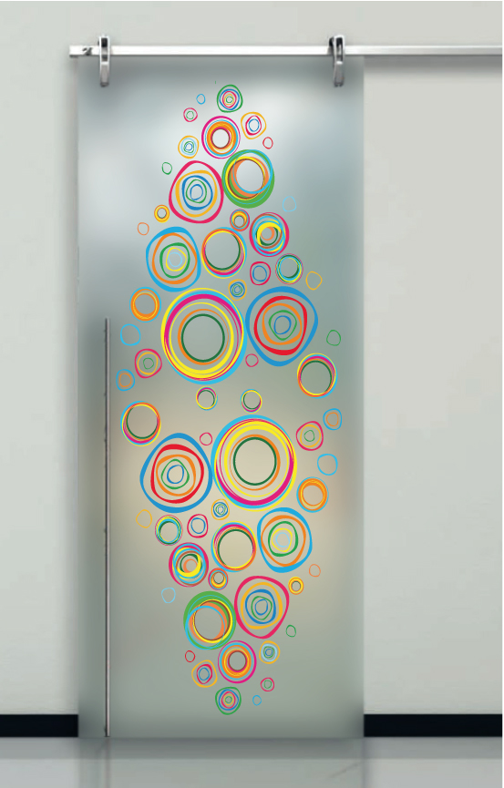 Porte in vetro decorato - Porte con vetro decorato ...